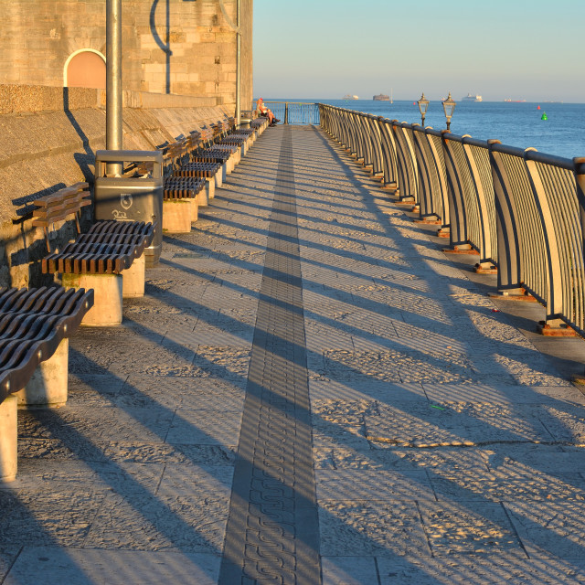 """""""A row of seats"""" stock image"""