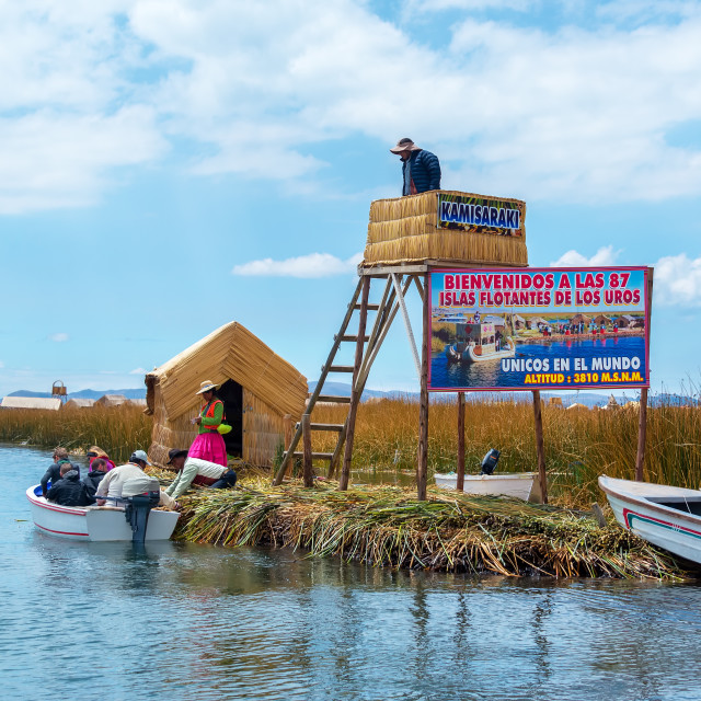 """Floating Islands Entrance"" stock image"