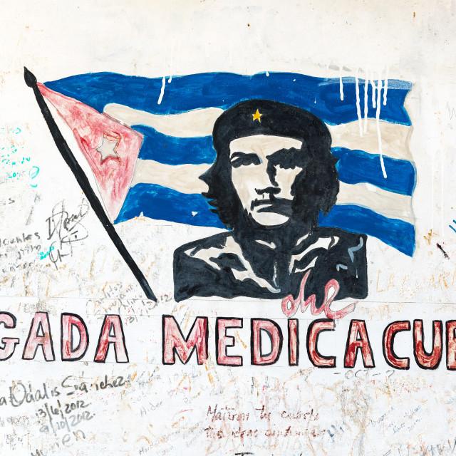 """Che Guevara Graffiti"" stock image"
