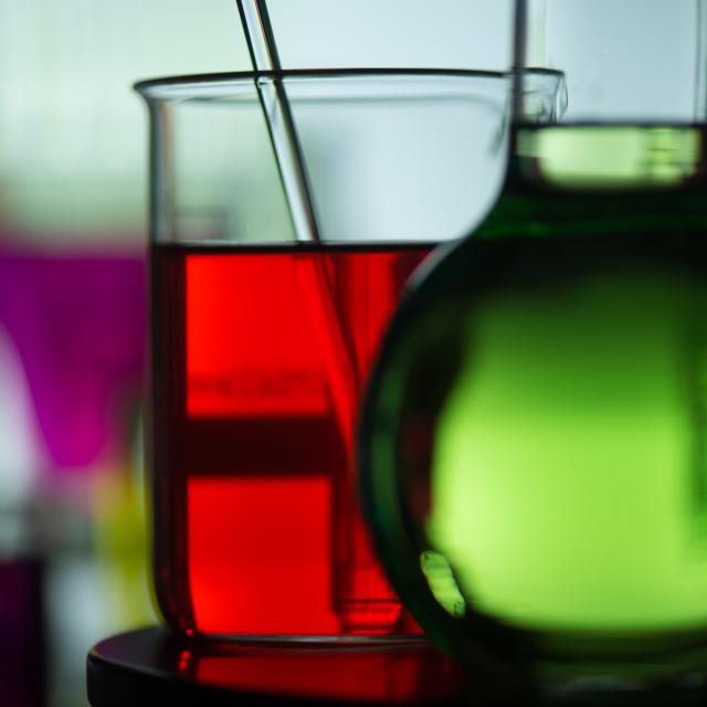 """Chemical, Science, Laboratory, Test Tube, Laboratory Equipment"" stock image"