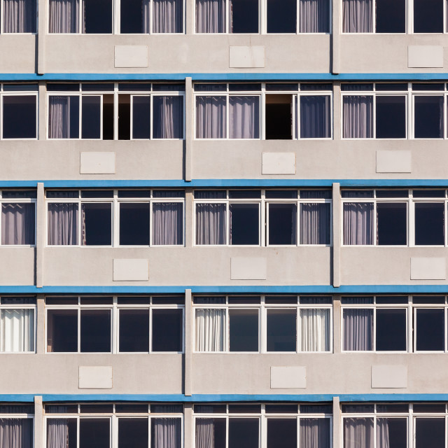 """""""Building Apartments Glass"""" stock image"""