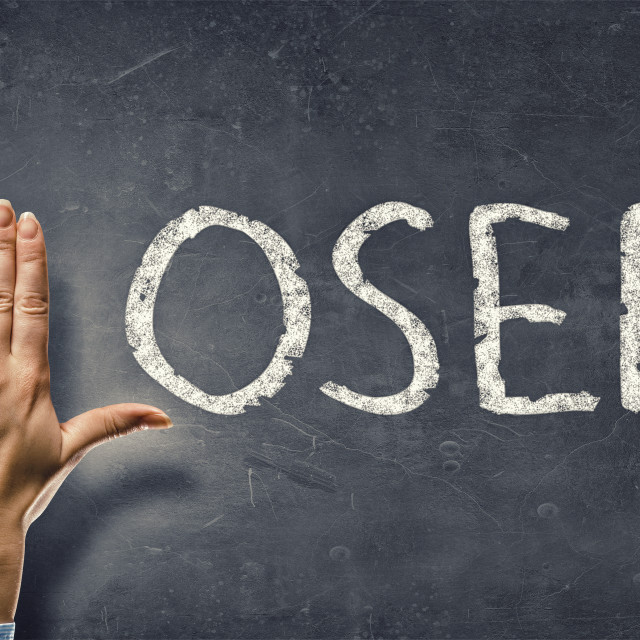 """""""Loser word"""" stock image"""