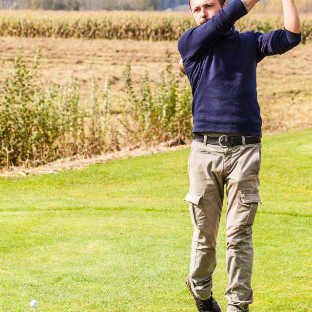 """Golf weekend"" stock image"