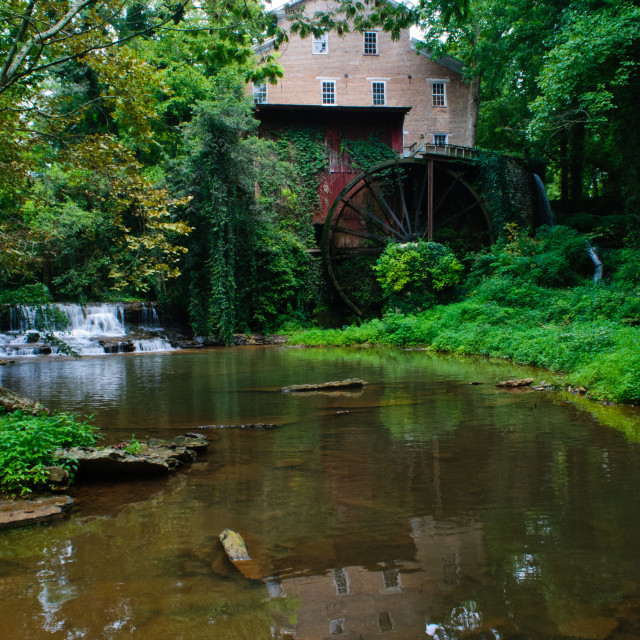 """""""Fall's Mill"""" stock image"""