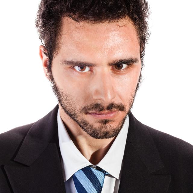 """serious businessman"" stock image"