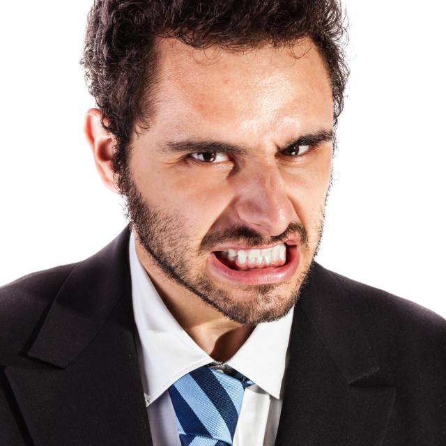 """""""furious businessman"""" stock image"""