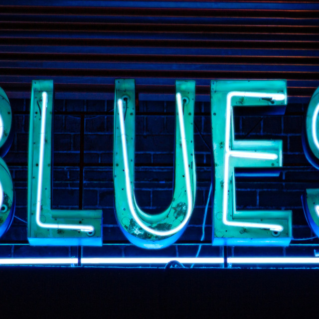 """The Blues"" stock image"