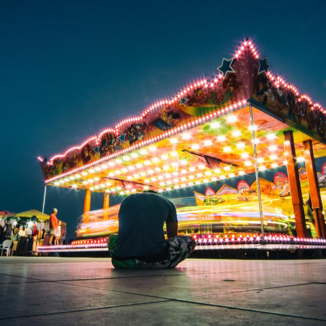 """""""Merry-go-round"""" stock image"""