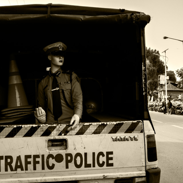 """Traffic Police"" stock image"