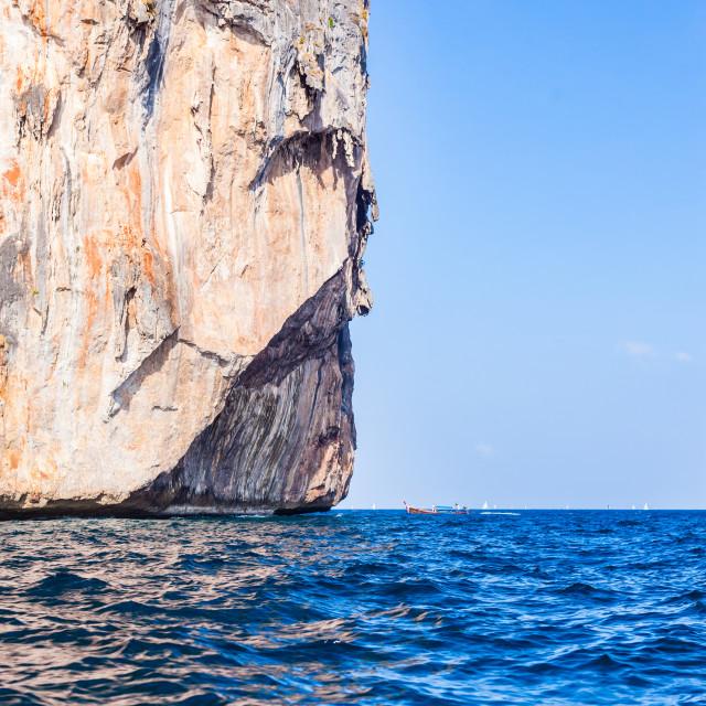 """Majestic cliff"" stock image"