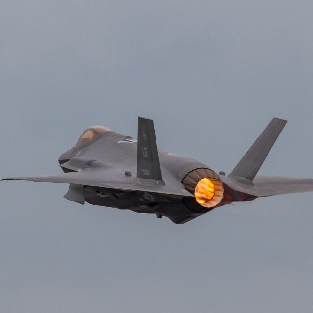 """F35 Lightning II"" stock image"