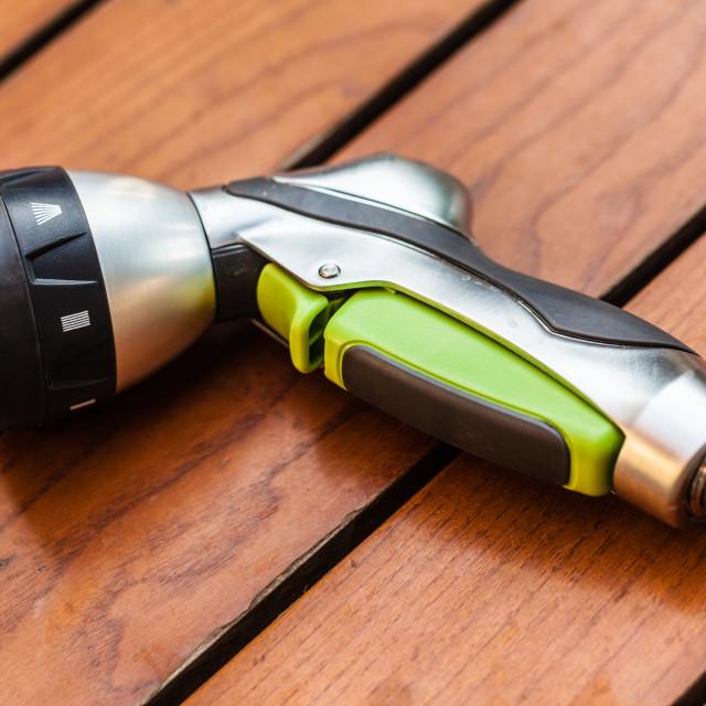 """""""Revolver nozzle"""" stock image"""