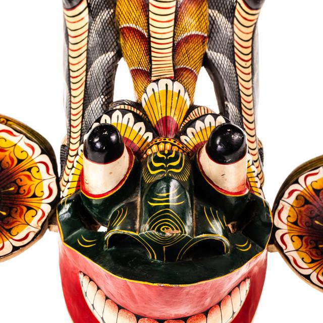 """Gara Raksha Mask"" stock image"