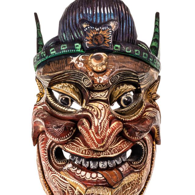 """japanese traditional mask"" stock image"