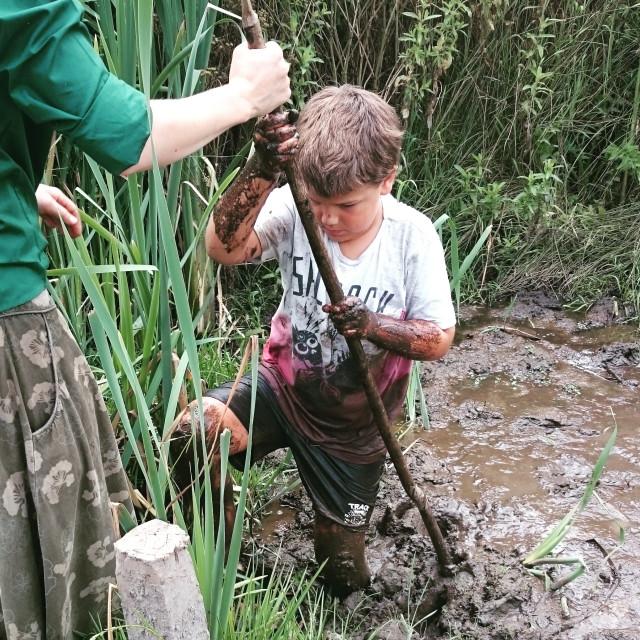"""""""mud safari"""" stock image"""