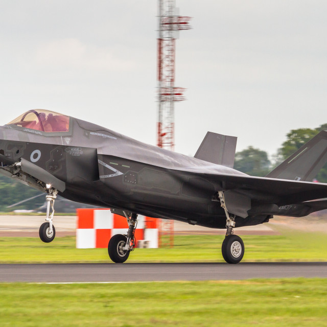 """RAF F35-B"" stock image"