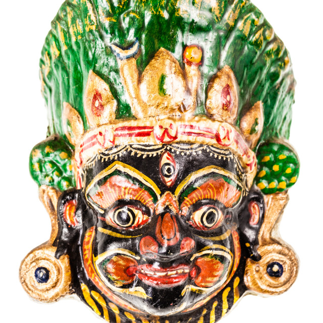 """""""nepalese mask"""" stock image"""