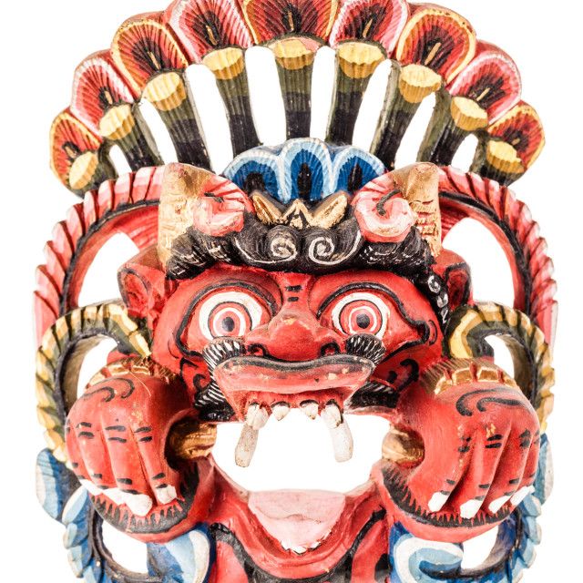 """""""traditional nepalese mask"""" stock image"""