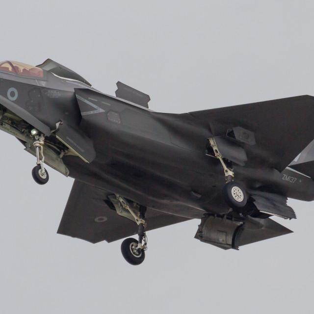 """RAF Lightning II"" stock image"