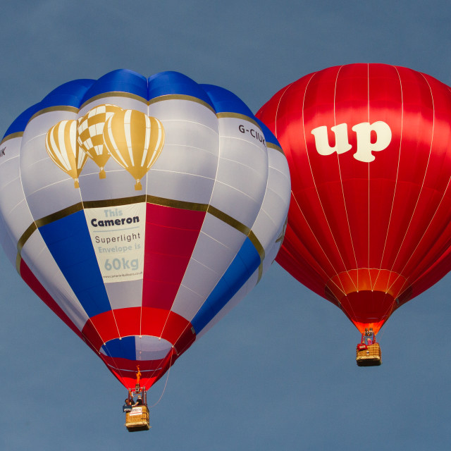 """Hot Air Balloons"" stock image"