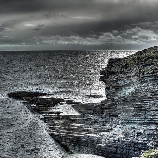 """Marwick Head, Orkney"" stock image"