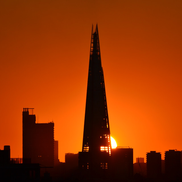 """See Through Shard"" stock image"