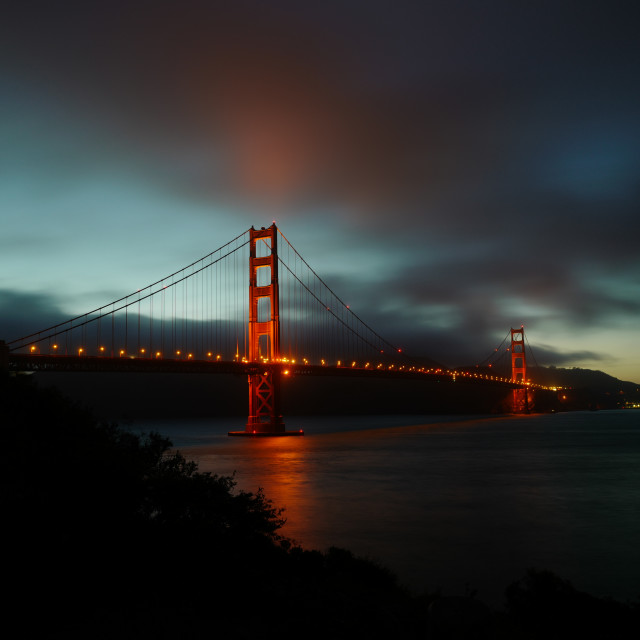 """Golden Gate Bridge 2"" stock image"