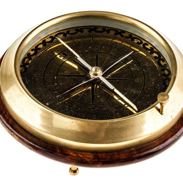 """Table compass"" stock image"