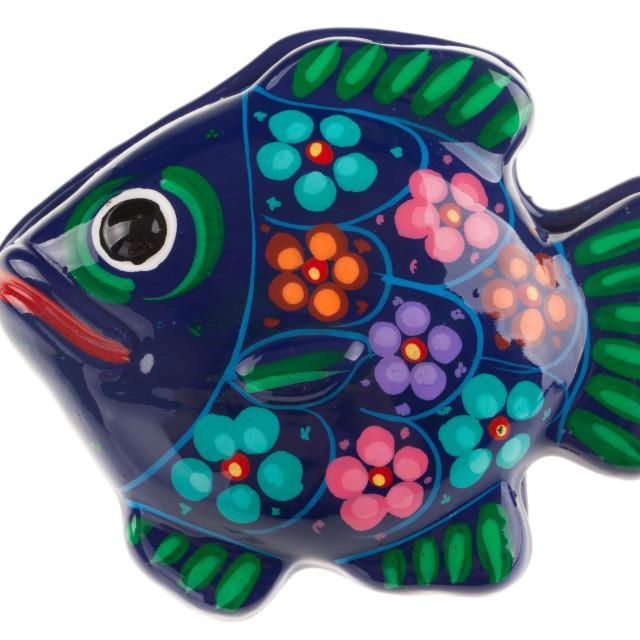 """""""Ceramic fish"""" stock image"""