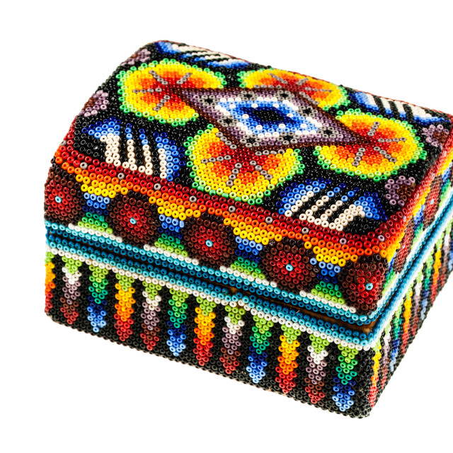"""Colorful casket"" stock image"