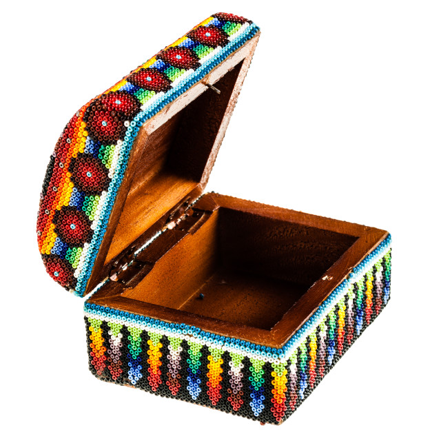 """""""Open colorful box"""" stock image"""