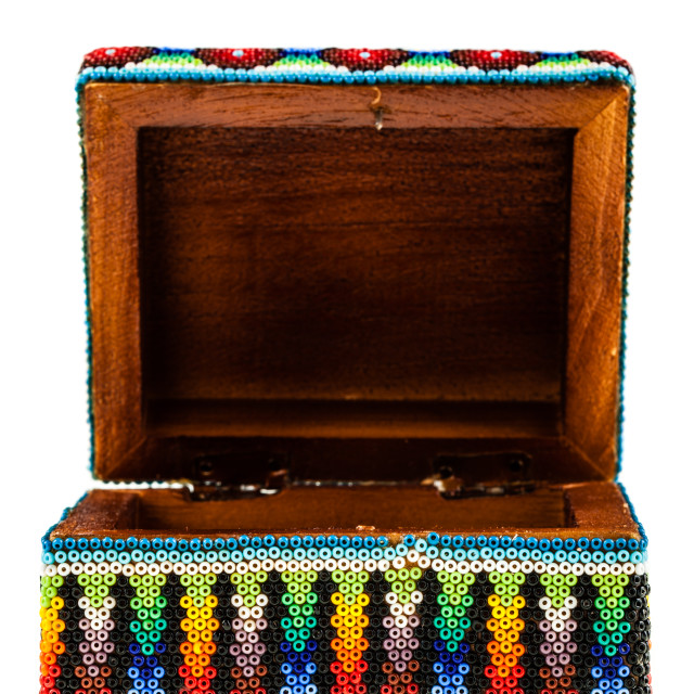 """Open Mexican box"" stock image"