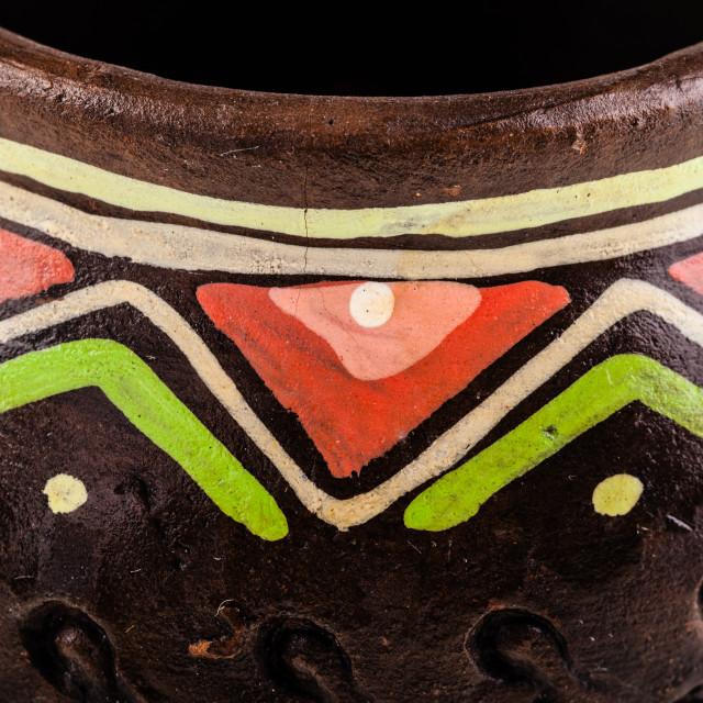 """""""Vase detail"""" stock image"""