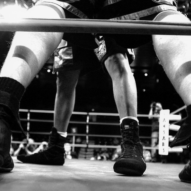 """Boxing/On The Ropes"" stock image"