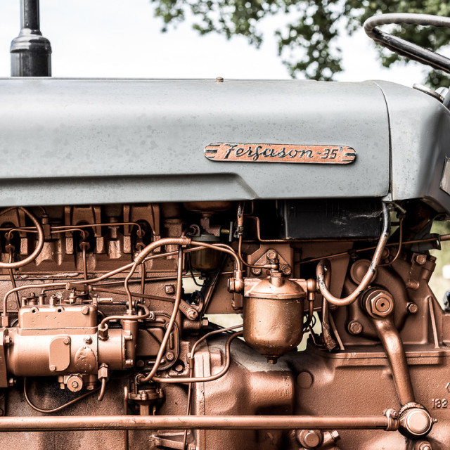"""Ferguson Tractor"" stock image"