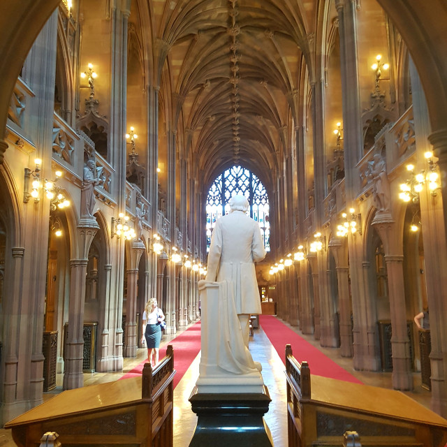 """John Rylands Library"" stock image"