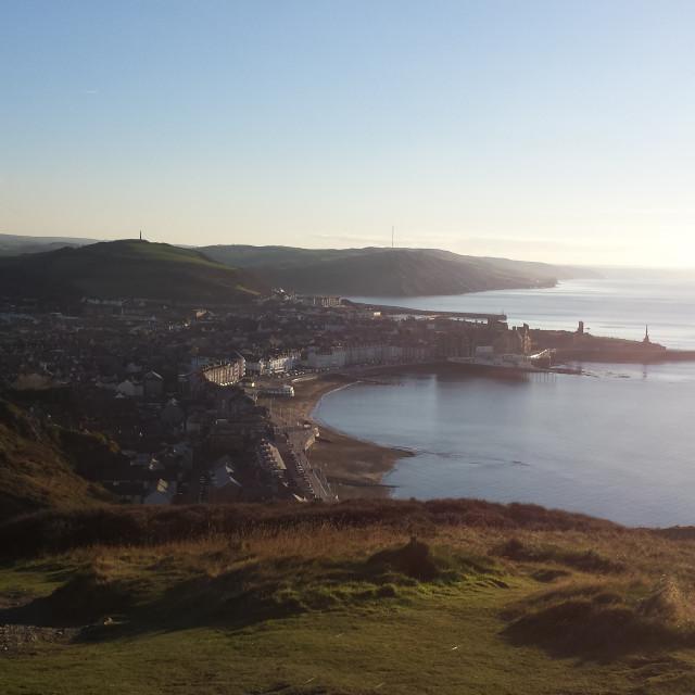"""Aberystwyth"" stock image"