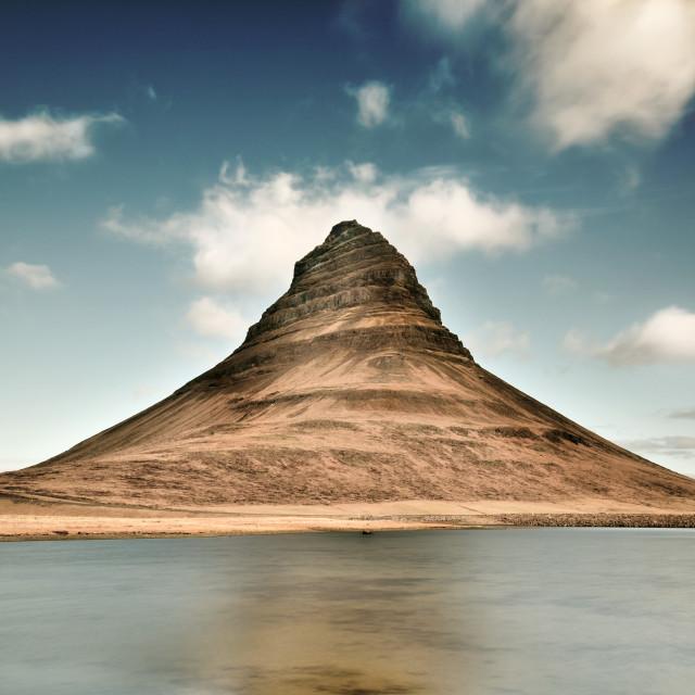 """Kirkjufell, Iceland"" stock image"