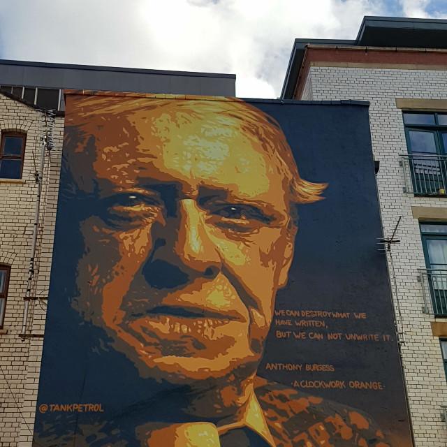 """Norther Quarter Manchester Graffiti"" stock image"