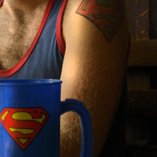 """Super tea break"" stock image"