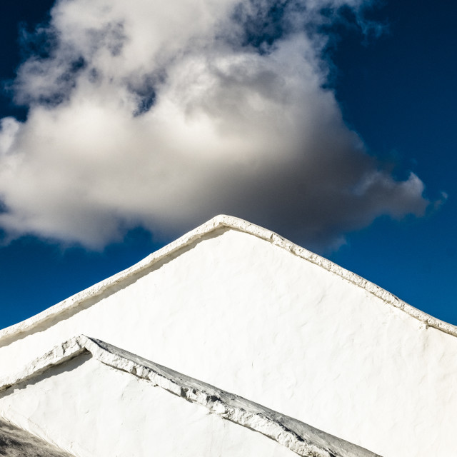 """Architecture detail in Lanzarote"" stock image"