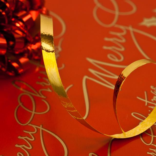 """""""Christmas Wrapping"""" stock image"""