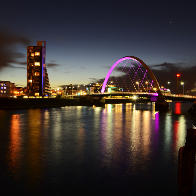 """River Clyde"" stock image"