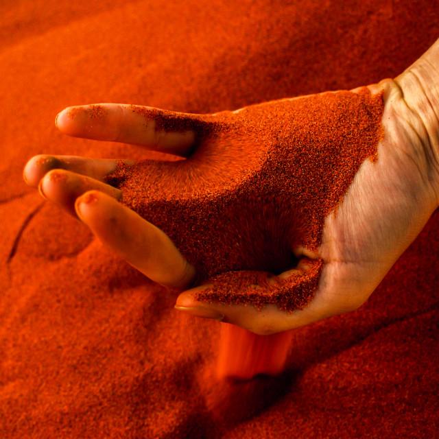 """""""Namibian sand1"""" stock image"""
