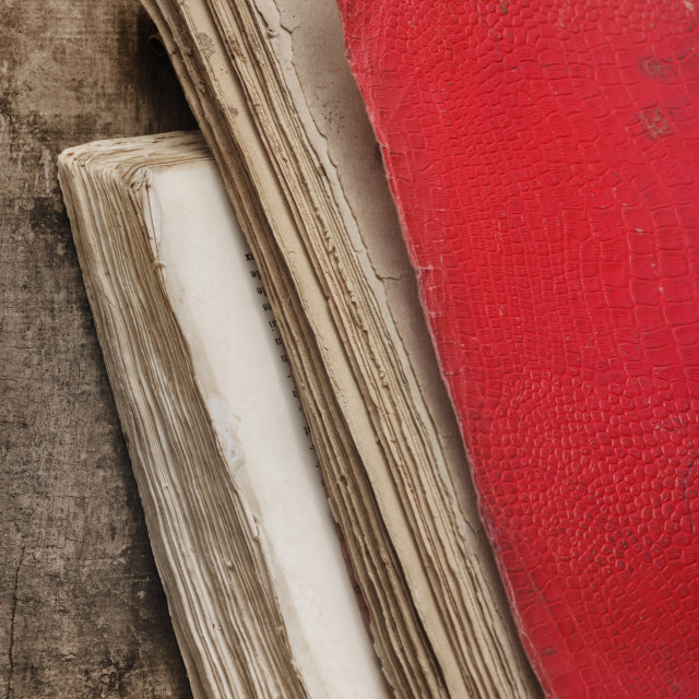 """""""old books used"""" stock image"""