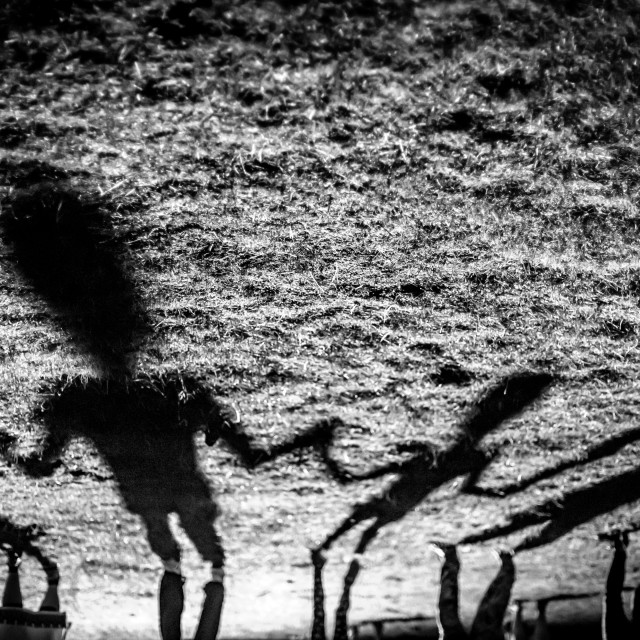 """""""Mommy, I am dancing in the night"""" stock image"""
