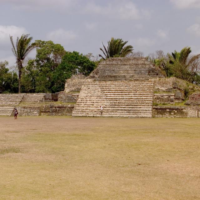 """""""JR_Belize_Al Tun Ha-06"""" stock image"""