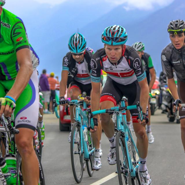 """""""Cycle race"""" stock image"""