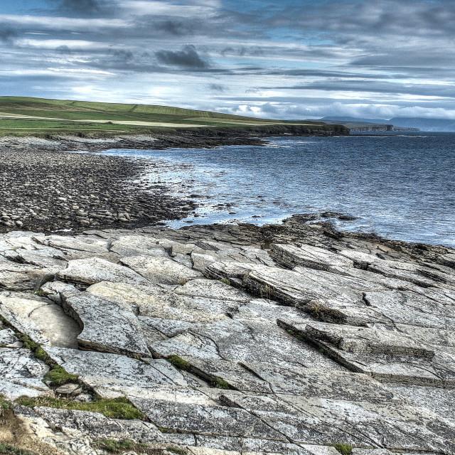 """""""Orkney Coast"""" stock image"""