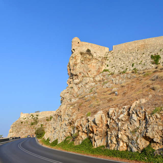 """""""Rethymno Fortezza fortress"""" stock image"""